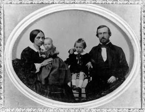 Thomas Whaley y familia