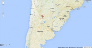 Ubicación Loreto, Argentina