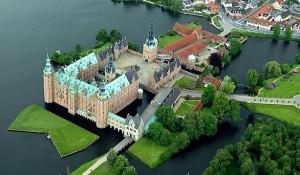 Castillo de Frederiksborg.