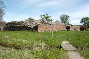 Castillo de Gurre. Ruinas