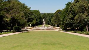 Campo del Moro desde Palacio Real.