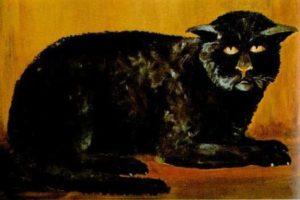 El Gato Negro de Killakee House.