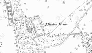 Killakee House. Mapa.