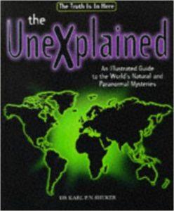 The Unexplained. Libro.
