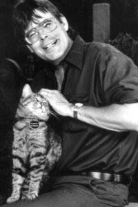 Stephen King y Clovis.